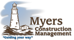 Myers Construction Management Logo